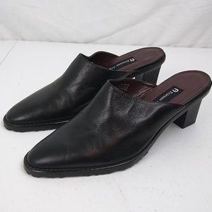 Etienne Aigner Women's Mules Shoes Sz 8 M Black